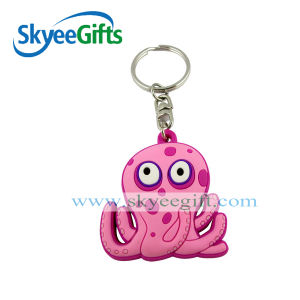 Custom Design Eco-Friendly and Soft PVC Keychain pictures & photos