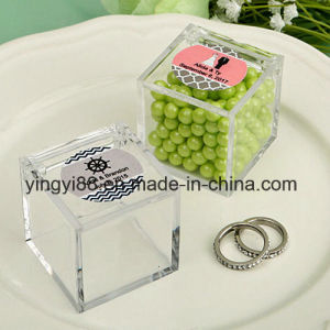 Custom Transparent Plastic Boxes for Gifts (YYB-053) pictures & photos