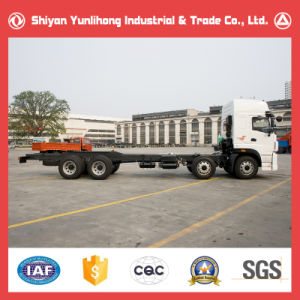 8X4 High Roof Cabin Truck Chassis/Heavy Duty Trucks Chassis pictures & photos