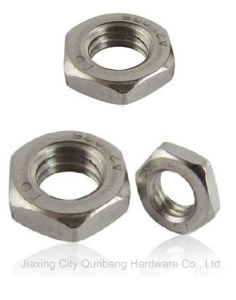 Hexagon Thin Nuts (DIN439, S. S., 304, 316) pictures & photos