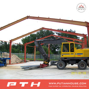 Single Slope Prefabricated Steel Structure for Warehouse pictures & photos