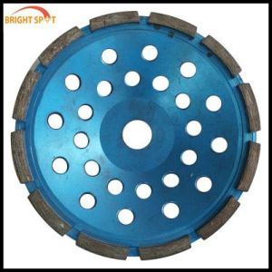 Diamond Cup Wheel Bouble Row for Diamond Saw Blade pictures & photos