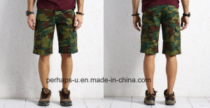 Cool Mens Camo Cotton Cargo Shorts pictures & photos