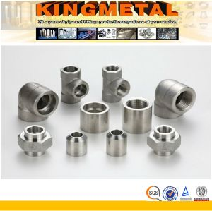 "1/8""-4"" Steel Forged Threaded Pipe Fittings pictures & photos"