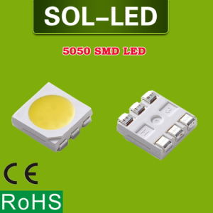 0.2W 3V 60mA 20-24lm 3 Chip Epistar SMD 5050 LED with Lm-80