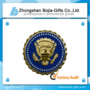 Customized Lapel Pin Badge with Logo Electroplated (BG-BA310)