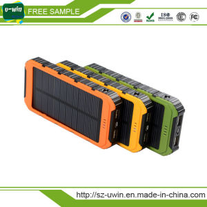 Cell Phone Solar Power Bank 12000mAh pictures & photos