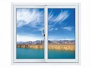 Single Hung Vinyl Vertical Sliding Window (BHA-LW010)