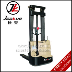 New Factory Price 1.0t Walkie Full Electric Stacker pictures & photos