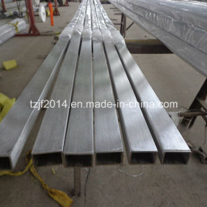 200series, 300 Series Seamless Stainless Steel Square/Rectangular Pipe pictures & photos