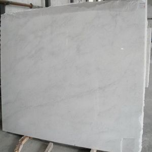 Polished China Natural Stone White/Beige/Cream/Snow Marble Slabs/Floors/Countertops with CE Certification pictures & photos