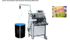 Single Wire Binder Machine HS-Ssm720 pictures & photos