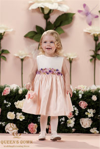 The New Bride Wedding Flower Girl Dress, Tailored pictures & photos