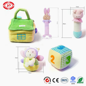 Baby Gift Set Push House Bag with Soft Education Toy pictures & photos