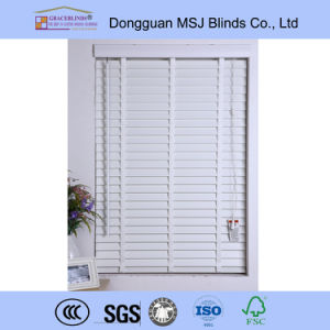 Fauxwood Blinds Window PVC Blinds Elegant Fauxwood Venetian Blinds pictures & photos