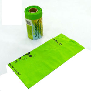 100% Fully Bioplastic/Biodegradable/Compostable Dog/Pet Garbage Bin Liner pictures & photos