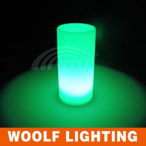 Rechargeable 3D Colors Battery LED Table Lamp pictures & photos