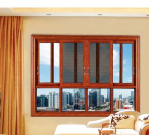 Feelingtop Thermal Break Powder Coated Aluminum Insulating Window and Door pictures & photos