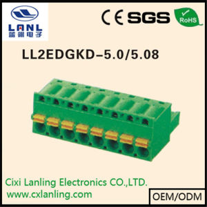 Ll2edgkd- 7.5/7.62 Pluggable Terminal Blocks Connector
