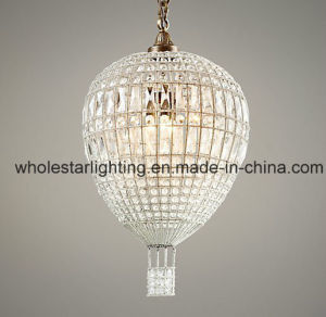 Carystal Oval Egg Chandelier Lamp (WHG-716) pictures & photos