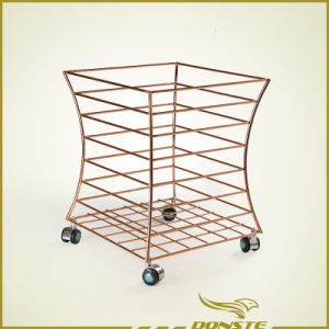 Metal 8 Tiers Towel Basket