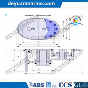 Marine Aluminum Manhole Cover C Type pictures & photos