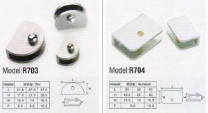 Furniture Hardware, Glass Clamp Olorful Hardware pictures & photos
