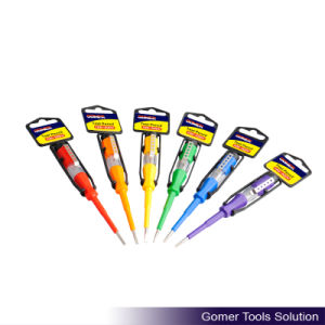 Safety Color Handle Electrial Test Pen (T07261)