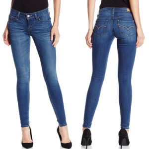 2017 New Fashion Women Denim Skinny Cotton Jean Pants pictures & photos