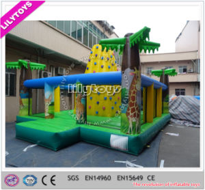Nice PVC Material Inflatable Clmibing Wall, Outdoor Sport Game pictures & photos