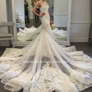 Luxury Mermaid Bridal Gowns One Shoulder Wedding Dresses Z2020 pictures & photos