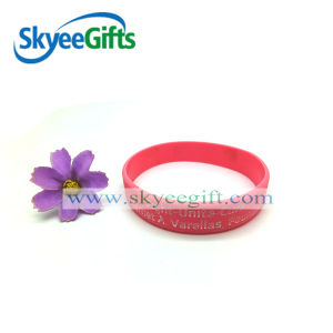 Silcione Wristband with Logo Customized Design pictures & photos