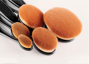 10PCS Toothbrush Type Oval Makeup Brush pictures & photos