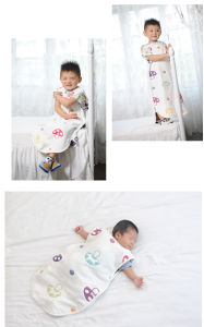 Baby Sleeping Bags, Sleeping Swaddle with 6 Layer Gauze pictures & photos