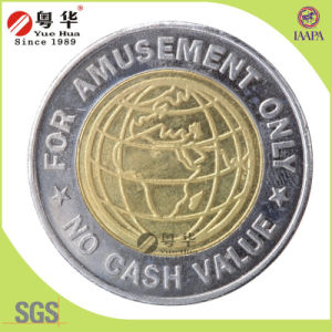 Best Sales 2 Color Brass Token Coins pictures & photos