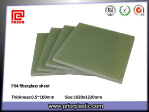 China Insulation Material Fiberglass Green Fr4 Sheet pictures & photos