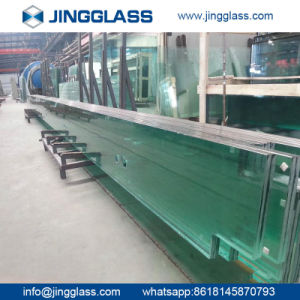 Safety Building Construction Flat Clear Tempered Sheet Glass Window Door pictures & photos