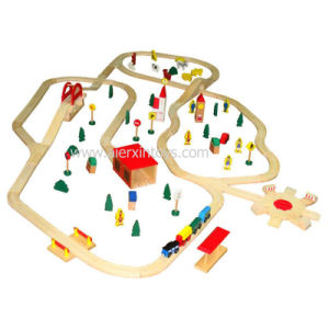 Wooden Train Track with En71 Certificate pictures & photos