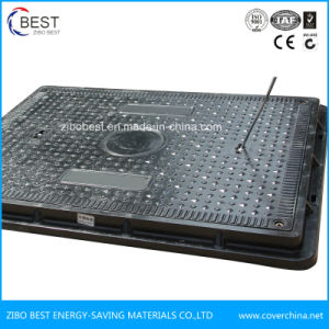 En124 B125 China Supplier FRP Precast Manhole Cover with Frame pictures & photos