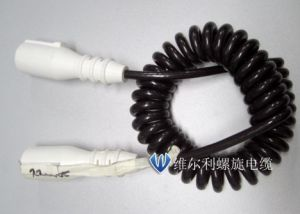 15 Pin Plug Spiral Coiled Cable