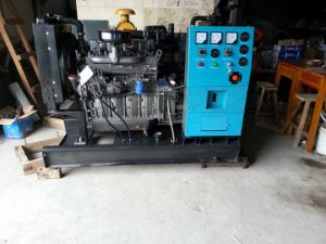 4cylinder 15kVA Four Stroke Four Wires Diesel Generating Set 400volt pictures & photos