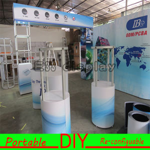 DIY Reusable Portable Modular Aluminum Fabric Exhibition Booth pictures & photos
