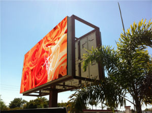 P16mm Outdoor Ultra-Bright Full Colour LED Display Board (>8000 nits) pictures & photos