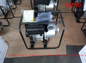 3 Inch Single Stage Recoil Start Centrifugal Air-Cooled Diesel Water Pump for Agricultural Irrigation pictures & photos