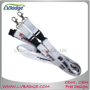 Promotional Gift Polyester Lanyard Screen Print Lanyard pictures & photos