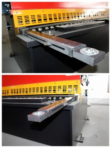 QC12y-8*3200mm Economical Hydraulic Swing Beam Shearing Machine/Nc Hydraulic Plate Cutting Machine pictures & photos