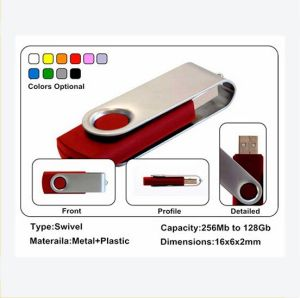 Hot New Products for 2016 Popular Swivel Shape 2GB / 4GB / 8GB / 16GB / 32GB / 64GB USB Flash Drive with One Year Warranty pictures & photos