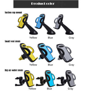 360 Degree Free Adjustment Car Air Vent Phone Holder pictures & photos