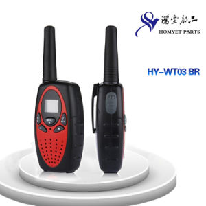 High Quanlity Protable 2-Way Radio/ Walkie Talkie for Outdoor (HY-WT03 BR) pictures & photos