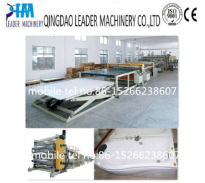 High Glossy ABS+PMMA Bathtub Sheet Co-Extrusion Line pictures & photos